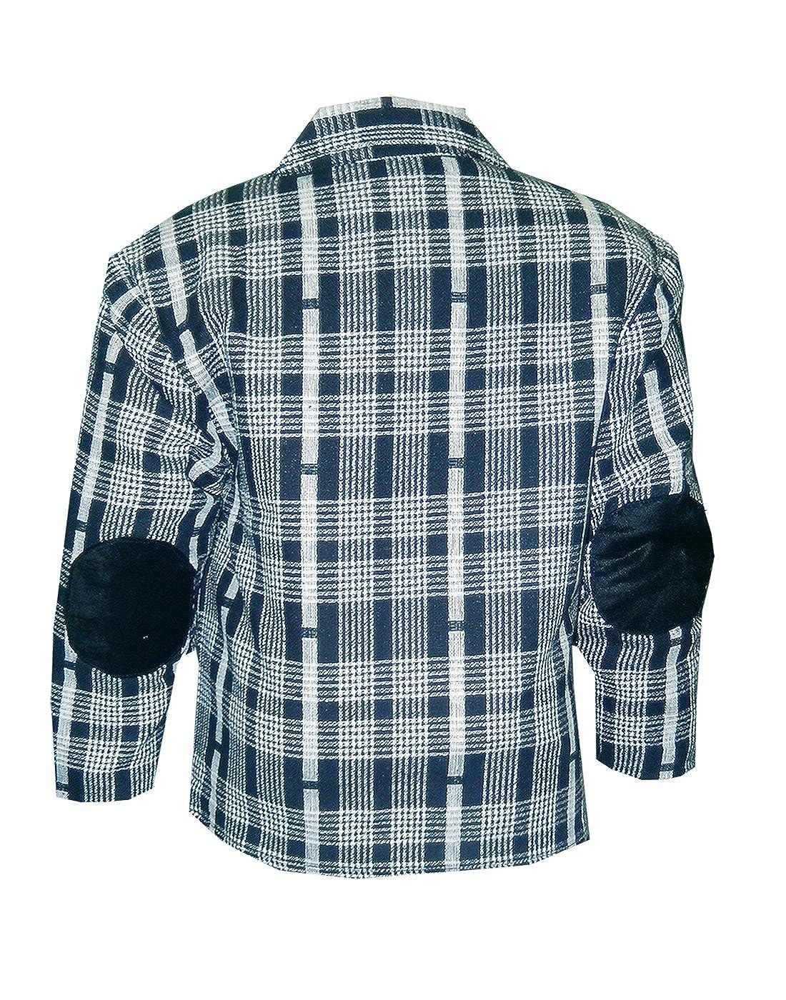 b34142600d KOOKA KIDS Boys Full Sleeves Blazer with Half Sleeves Round Neck T-Shirt  (2PC) Set (CS-27-10-Years-Black)  Amazon.in  Clothing   Accessories