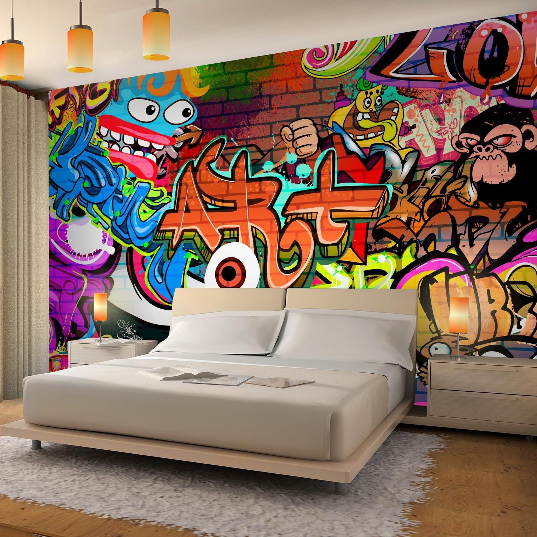 100/% FABRIQU/É EN ALLEMAGNE Tapisserie Photo Mur de pierre Graffiti 396 x 280 cm Laine papier peint Salon Chambre Bureau Couloir d/écoration Peinture murale d/écor mural moderne 9068012a