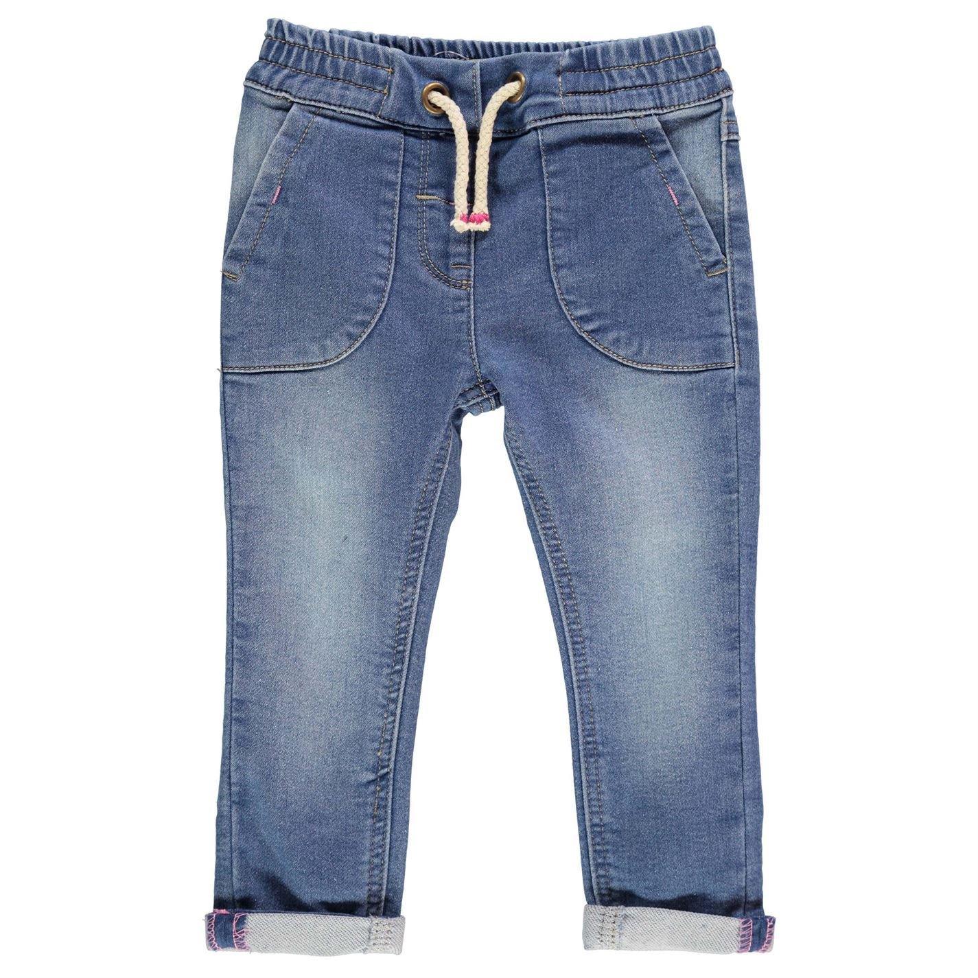 Crafted Pull On Vaqueros Niños Pantalones Cintura Elástica ...