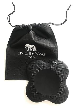 Rodillera de Yoga con Bolsa de Transporte, Ideal para Rodillas, Caderas y muñecas,