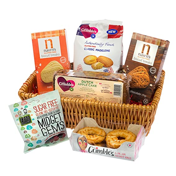 Luxury gift hamper gluten free hamper amazon grocery luxury gift hamper gluten free hamper negle Image collections