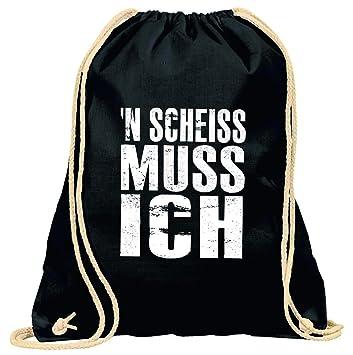 8f833d0311be9 Turnbeutel mit Spruch   verschiedene Sprüche   Designs auswählbar   Beutel   Schwarz   Rucksack