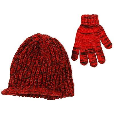 03e8e87b9df ABG Accessories Boys  Marled Knit Radar Cap with Matching Magic Gloves