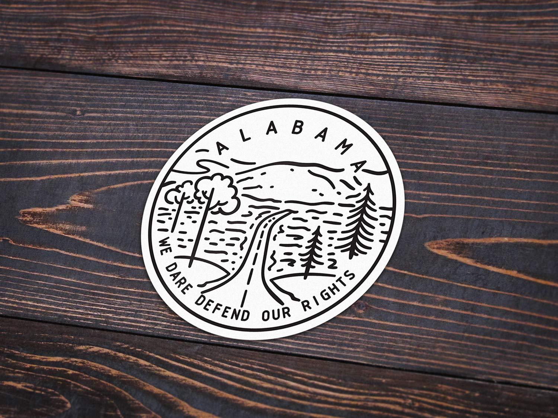 Alabama Sticker 3