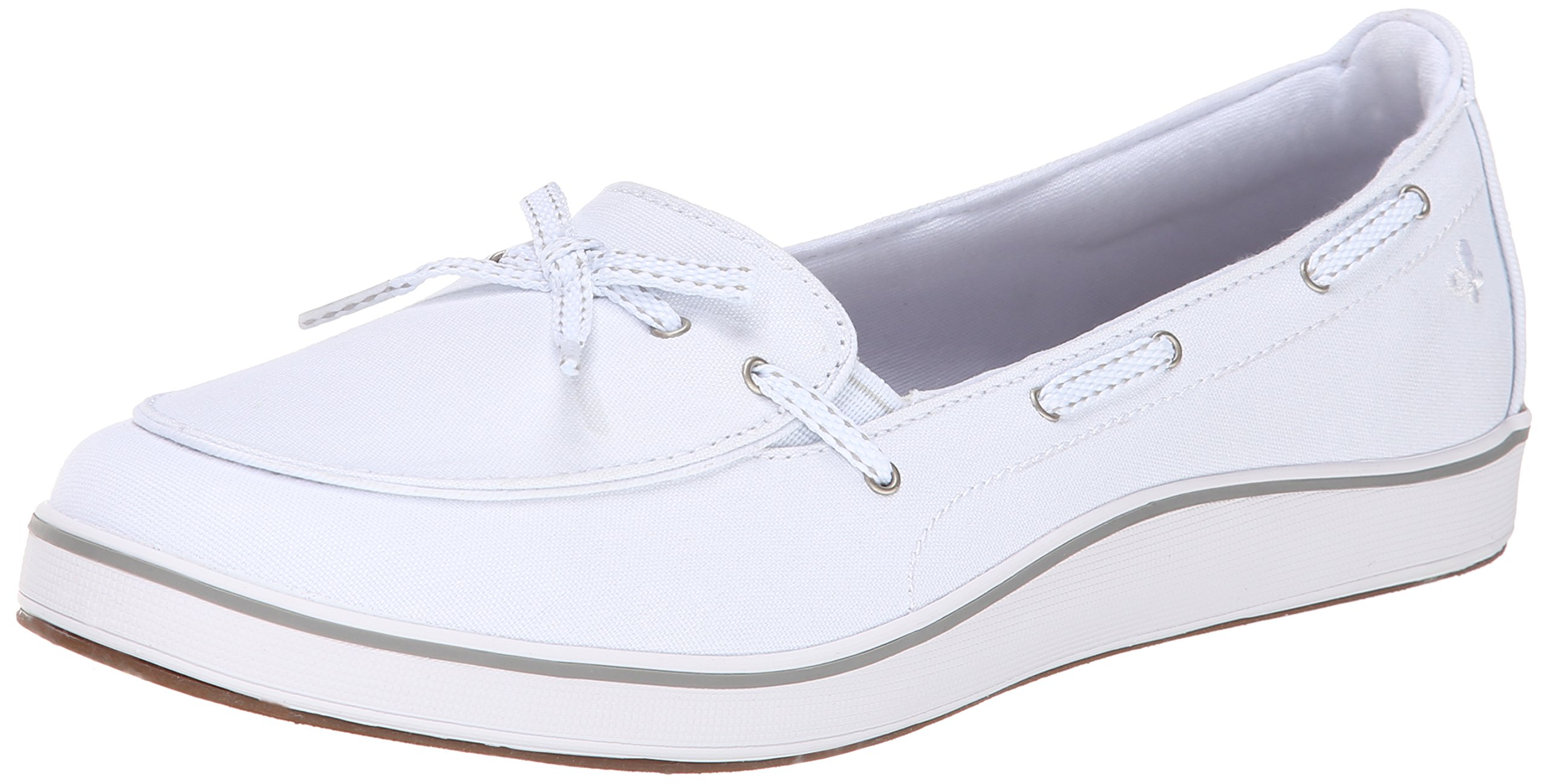 Grasshoppers Women's Windham Slip-On, White, 8 W US by Grasshoppers