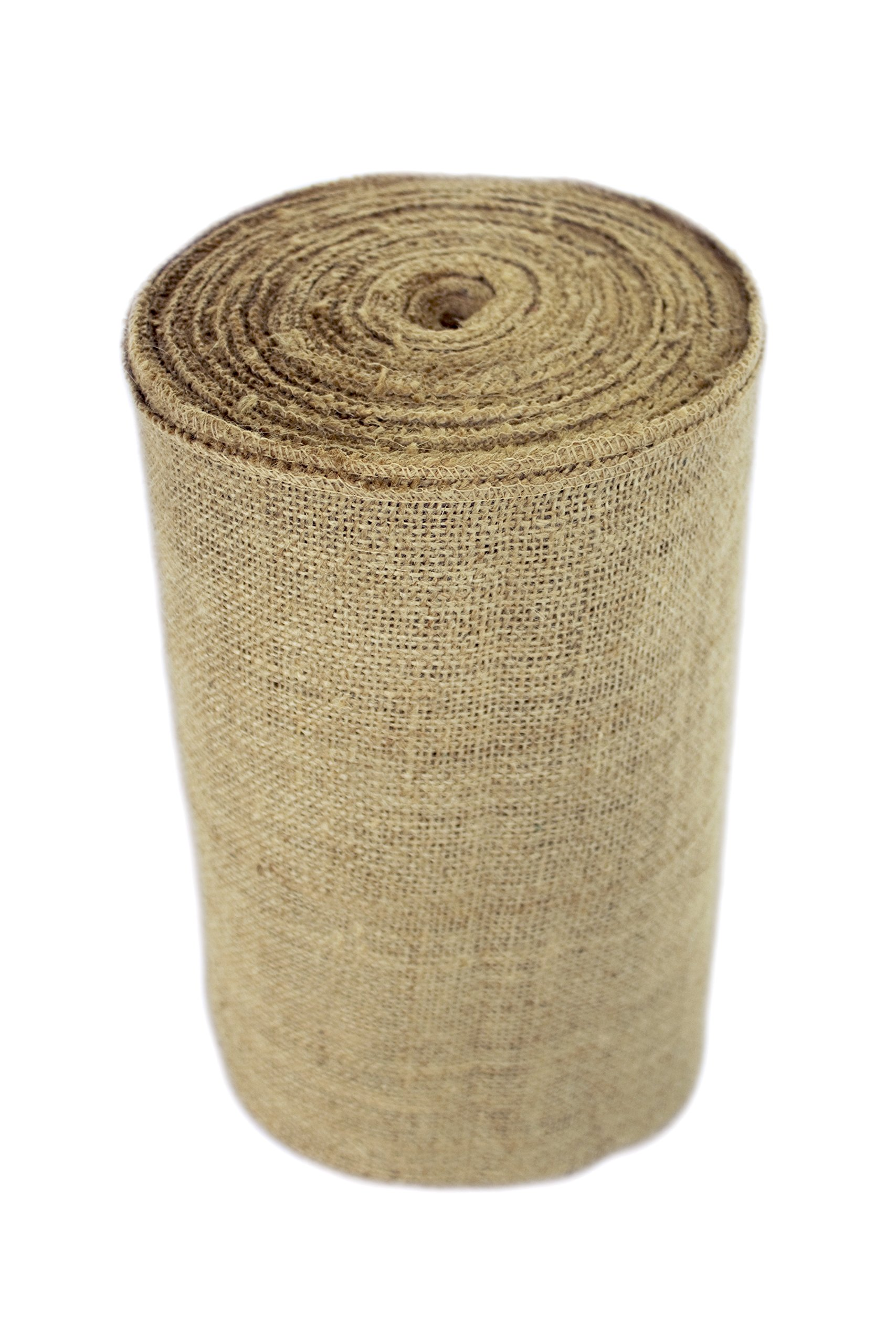 14'' No-Fray Burlap Roll Table Runner, 14 inches by 50 Yards, Placemat, Craft Fabric by Burlap and Beyond LLC (Image #2)