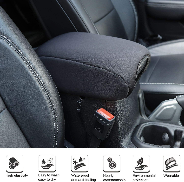 Black Voodonala for Jeep JL Center Console Armrest Pad for 2018-2020 Jeep Wrangler JL JLU 2//4 Door /& 2020 Gladiator JT