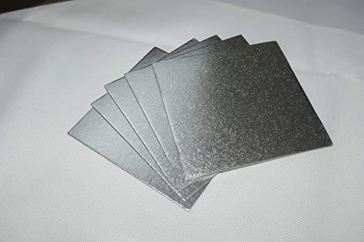 25 x Of Culpitt Cake Cut-Edge Boards Wedding Decorating Support Card 1.8mm Thick