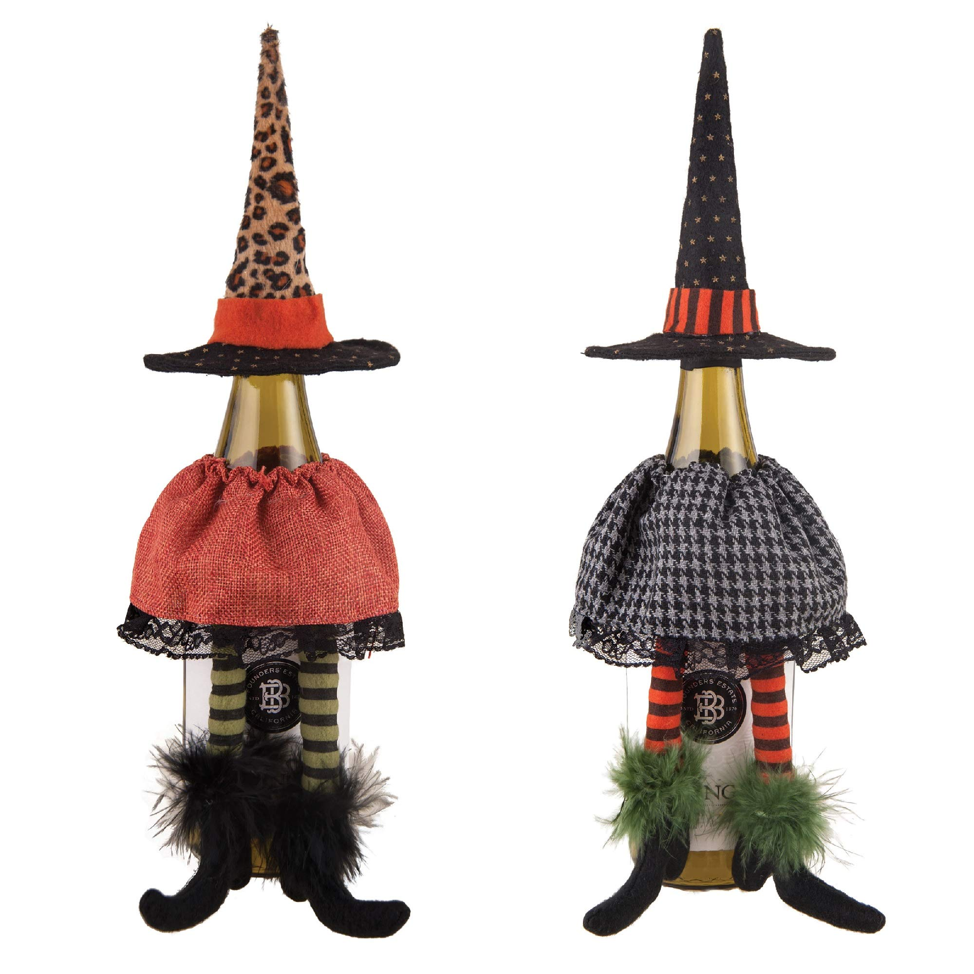 GALLERIE II Set of 2 Witchy Bottle Toppers 14'' by GALLERIE II