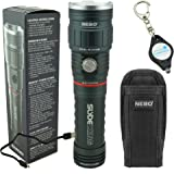 Nebo Slyde King 6434 Rechargeable LED Flashlight Work Light with 6274 Holster and Lumintrail Keychain Light