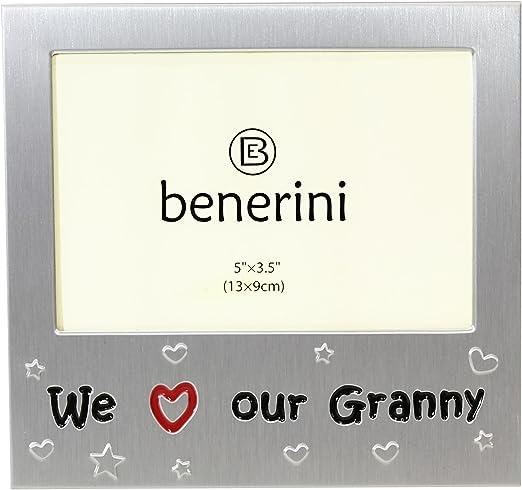 Amazon.com: Nos encanta nuestra abuela – Marco para fotos ...