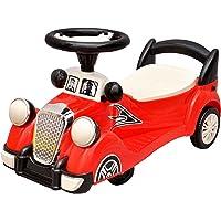 Toyshine Plastic Vintage Magic Car Ride-on Toy (Red)
