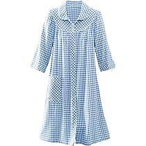 b8b4cb6c84 ... National Short Yarn-Dyed Flannel Check Duster