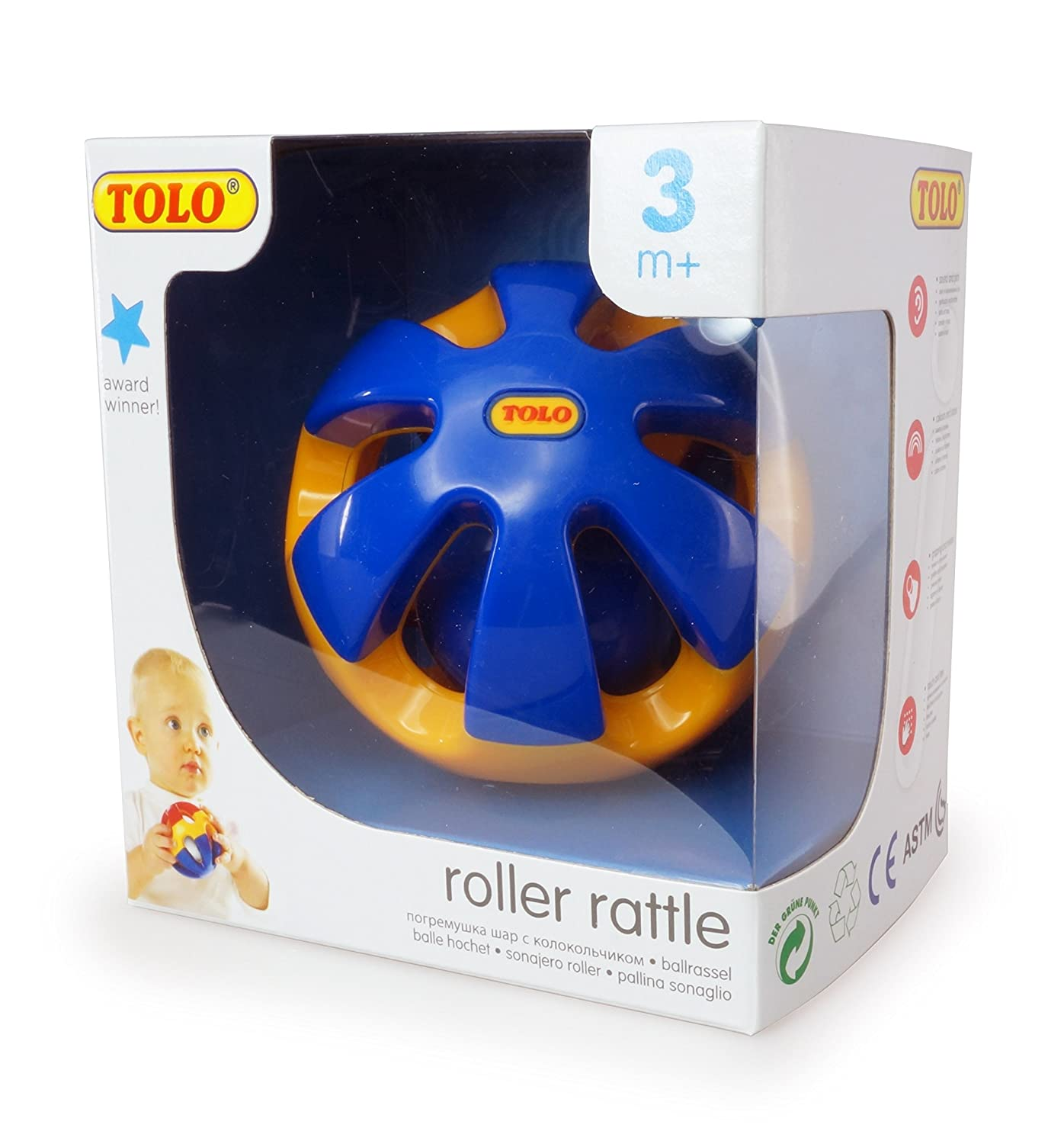 Tolo Roller Rattle Reeves Int/'l T89170 Activity Noise-Making Breyer