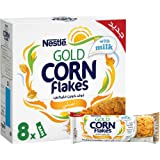 Nestle Gold Cornflakes Original Breakfast Cereal Bar 20g ,8 Pieces, (Pack of 1)