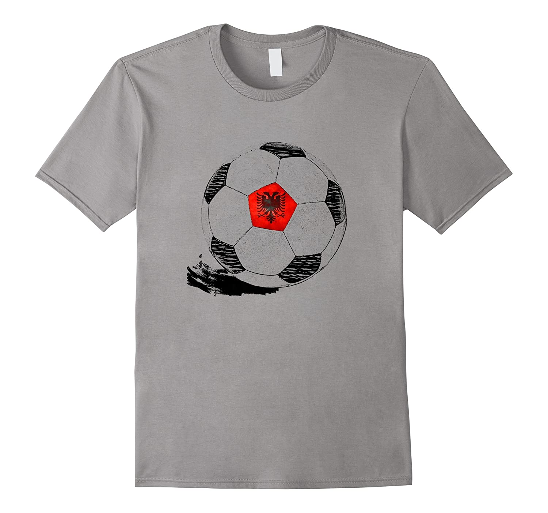 53efc0c42 Vintage Soccer Albania Flag T-shirt Albanian Pride-gm – Ganamatee