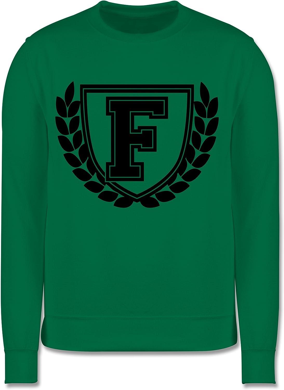 Kinder Pullover Shirtracer Anfangsbuchstaben Kind F Collegestyle