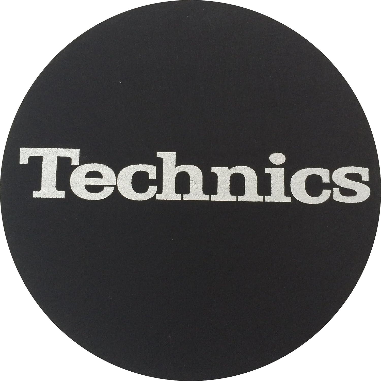 Magma de Factory Technics Texto Plata Slipmat, 2 unidades)