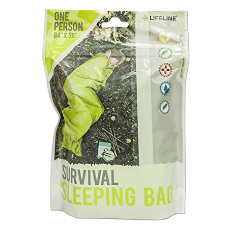 Lifeline de Emergencia Supervivencia Saco de Dormir