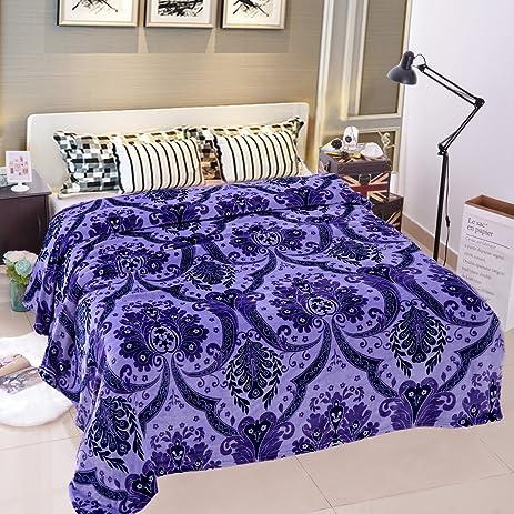 Amazon JML Lightweight Plush Blanket Soft Warm Printed Pattern Fascinating Fleece Blanket Pattern