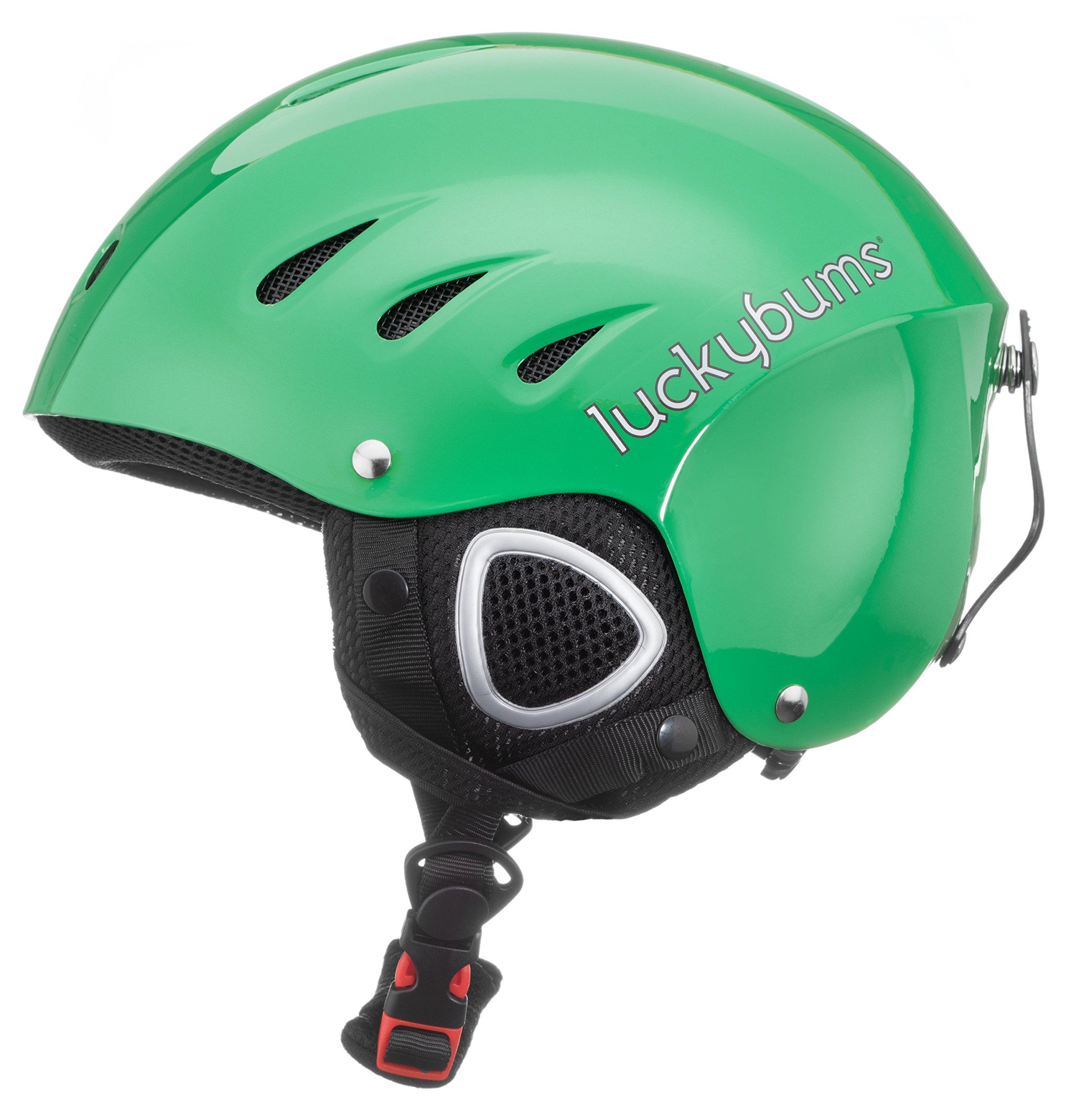 Lucky Bum Adult Snow Ski Helmet