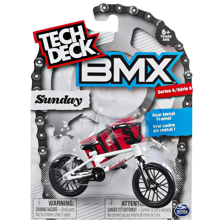 Tech Deck 20075346 Bmx Finger Bike – Sunday – White/Black – Series 6 Spin Master