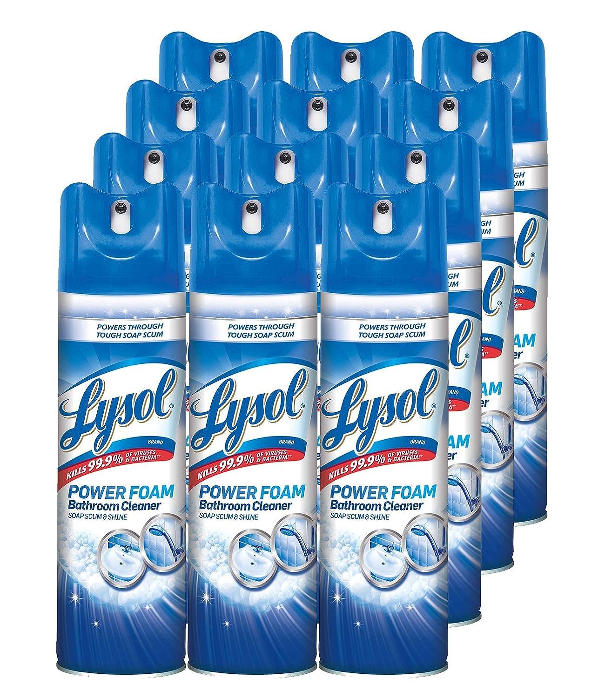Amazon.com: Lysol Bathroom Cleaner Spray, Island Breeze, 288oz (12X24oz):  Health U0026 Personal Care