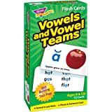 Vowels and Vowel Teams Skill Drill Flash Card Game (72 Pack)