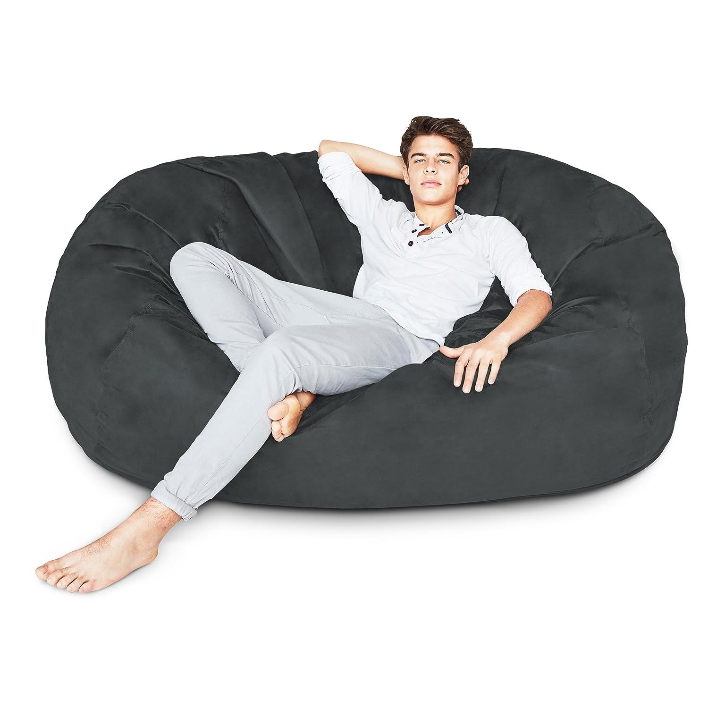 Amazon.com: Puff silla de 3 pies – 7 pies y 6 colores x ...