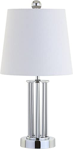 JONATHAN Y JYL2025A Lillian 18″ Metal Mini LED Lamp Transitional,Glam,Traditional,Contemporary