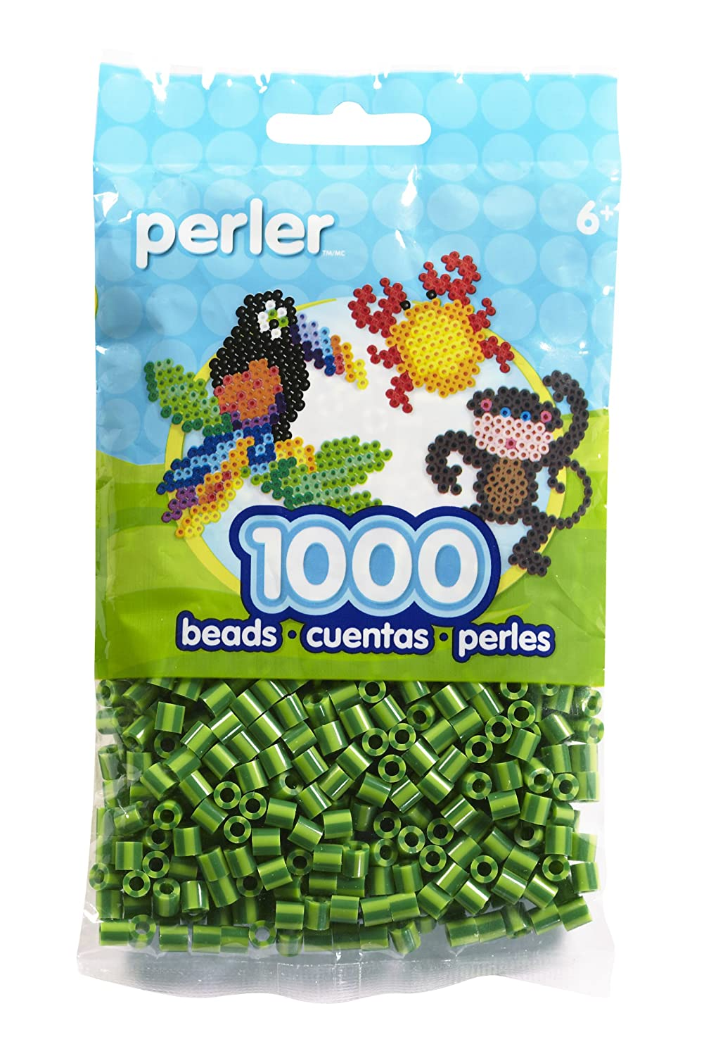 Perler Beads 80-15113 Bag Cucumber Stripe 1000 Count