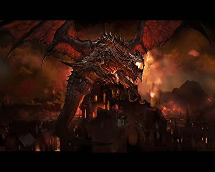 Amazon com : World of Warcraft WOW Cataclysm Wall Poster 3