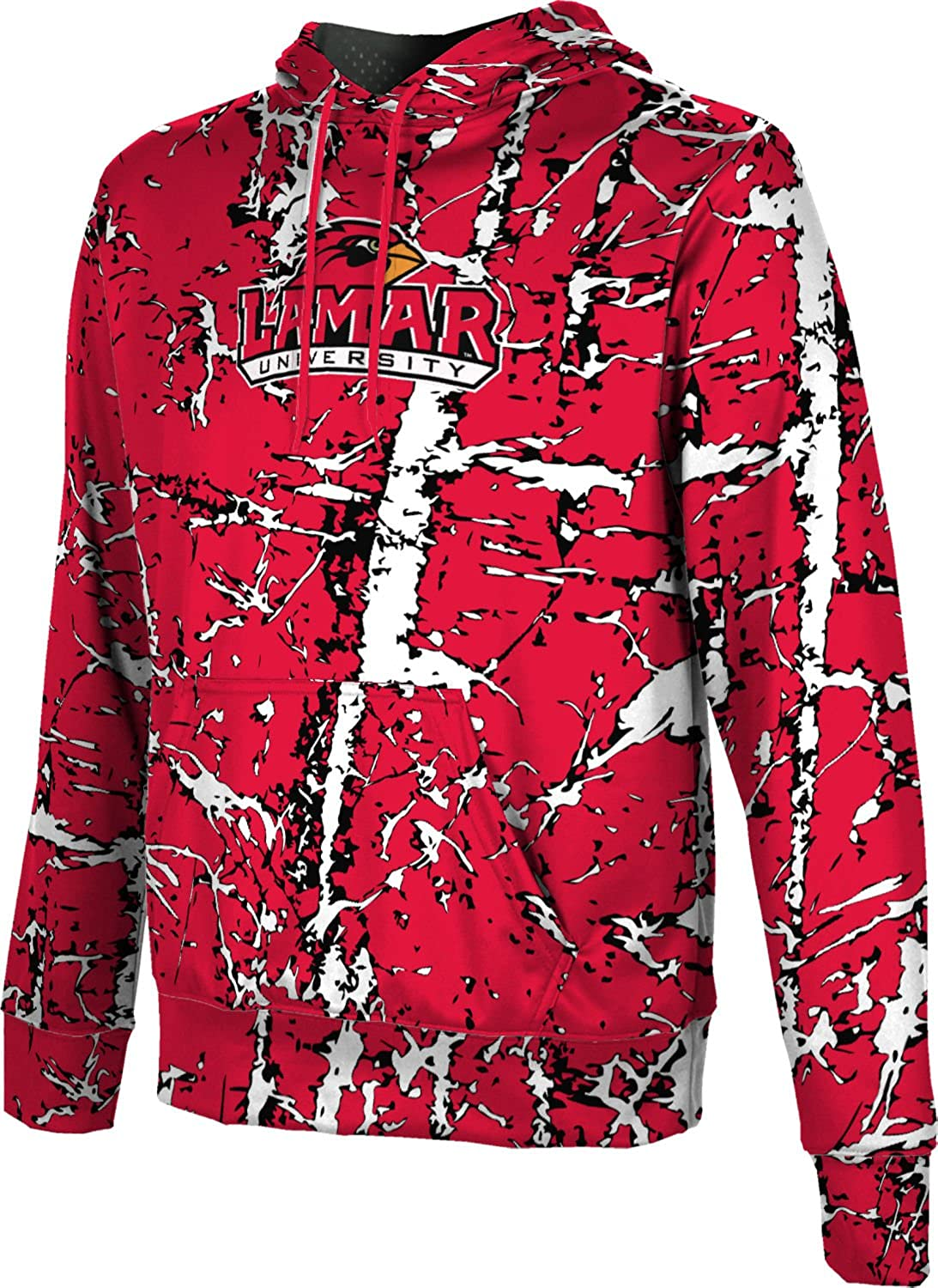 ProSphere Lamar University Boys Hoodie Sweatshirt Distressed