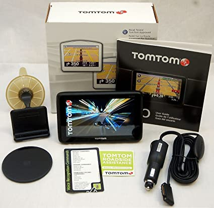 NEW TomTom GO 2535T LIVE Set Car GPS LIFETIME TRAFFIC Updates US//Canada Map 2535