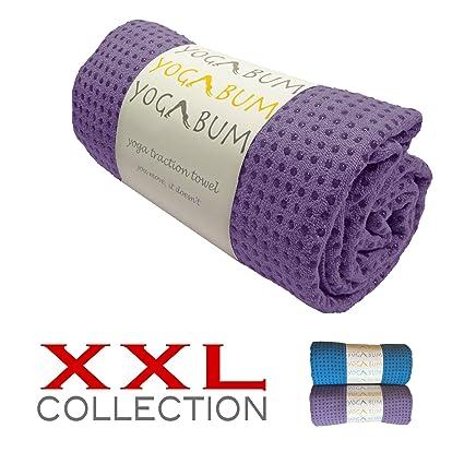 Yogabum XXL Coleccion Antideslizante Yoga Mat Toallas