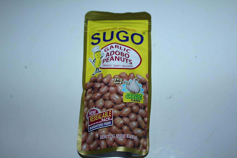 Sugo Garlic Adobo Peanuts Garlic Flavor Pack of Two 4.23 Oz a Pack ...
