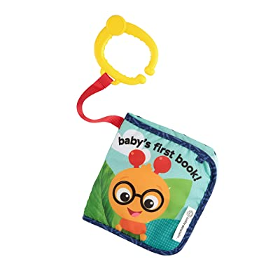 Baby Einstein Explore and Discover Soft Book Toy (Design May Vary) : Baby