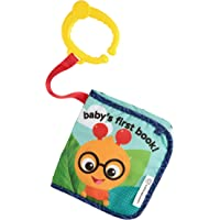 Baby Einstein Juguete Explore & Discover Soft Book, color Multi, paquete de 1