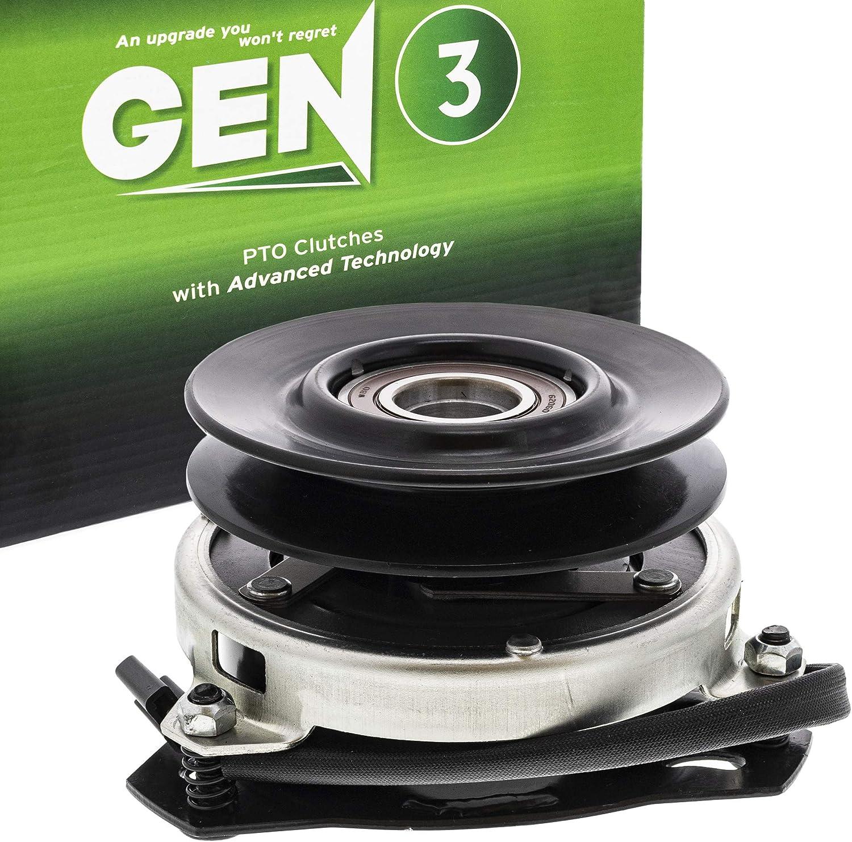 8TEN Gen 3 Electric PTO Clutch for John Deere Warner Craftsman Husqvarna Ogura AM119536 AM131779 5215-73 140923 174509