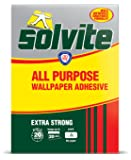Solvite Extra Strong All Purpose Fast Mix Wallpaper Adhesive Hangs 20 Rolls