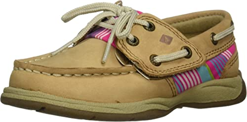 Sperry Intrepid Boat Shoes Youth Girl Slip-on Shoes Gold US Size 1 2