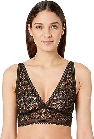 58478c257f1ee Else Womens Chloe Soft Cup Longline Bra at Amazon Women s Clothing ...