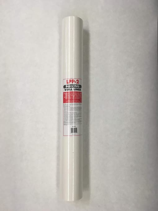 Wall Liner Heavy Duty White Prepasted Wallpaper Wall Paper Liner