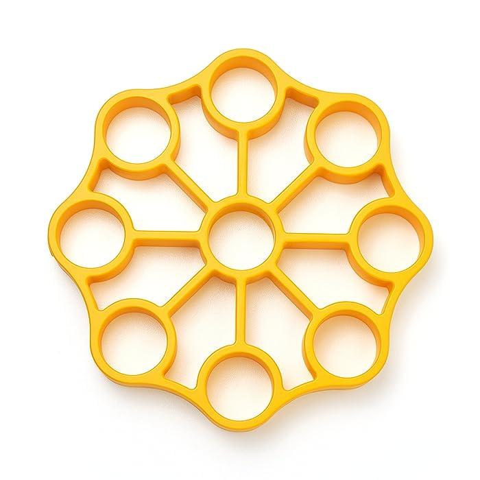 OXO 11244700 Silicone Egg Rack One Size Yellow