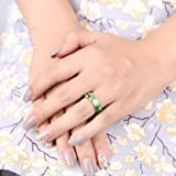 Handmade Green Resin Rings Women/Men's Engagement