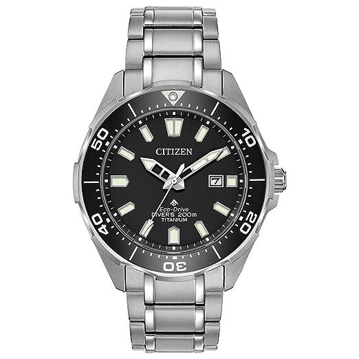 Citizen Reloj de Hombre Eco-Drive 44mm Correa y Caja de Titanio BN0200-56E: Amazon.es: Relojes