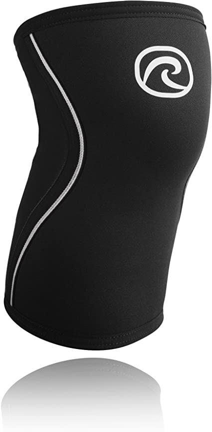 Rehband RX 7mm Knee Sleeve Support Black