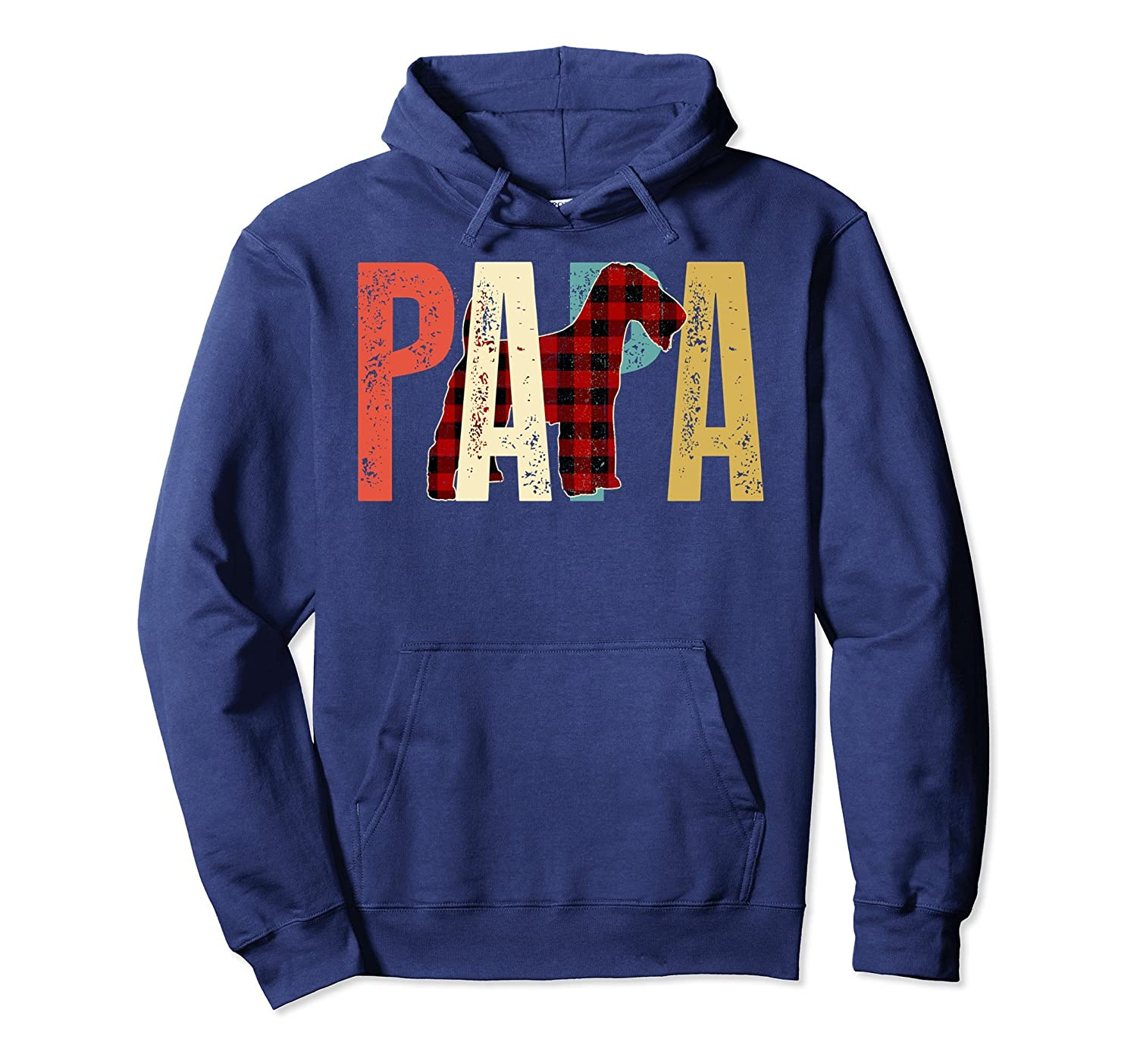Papa Wire Haired Fox Terrier Hoodie-TH