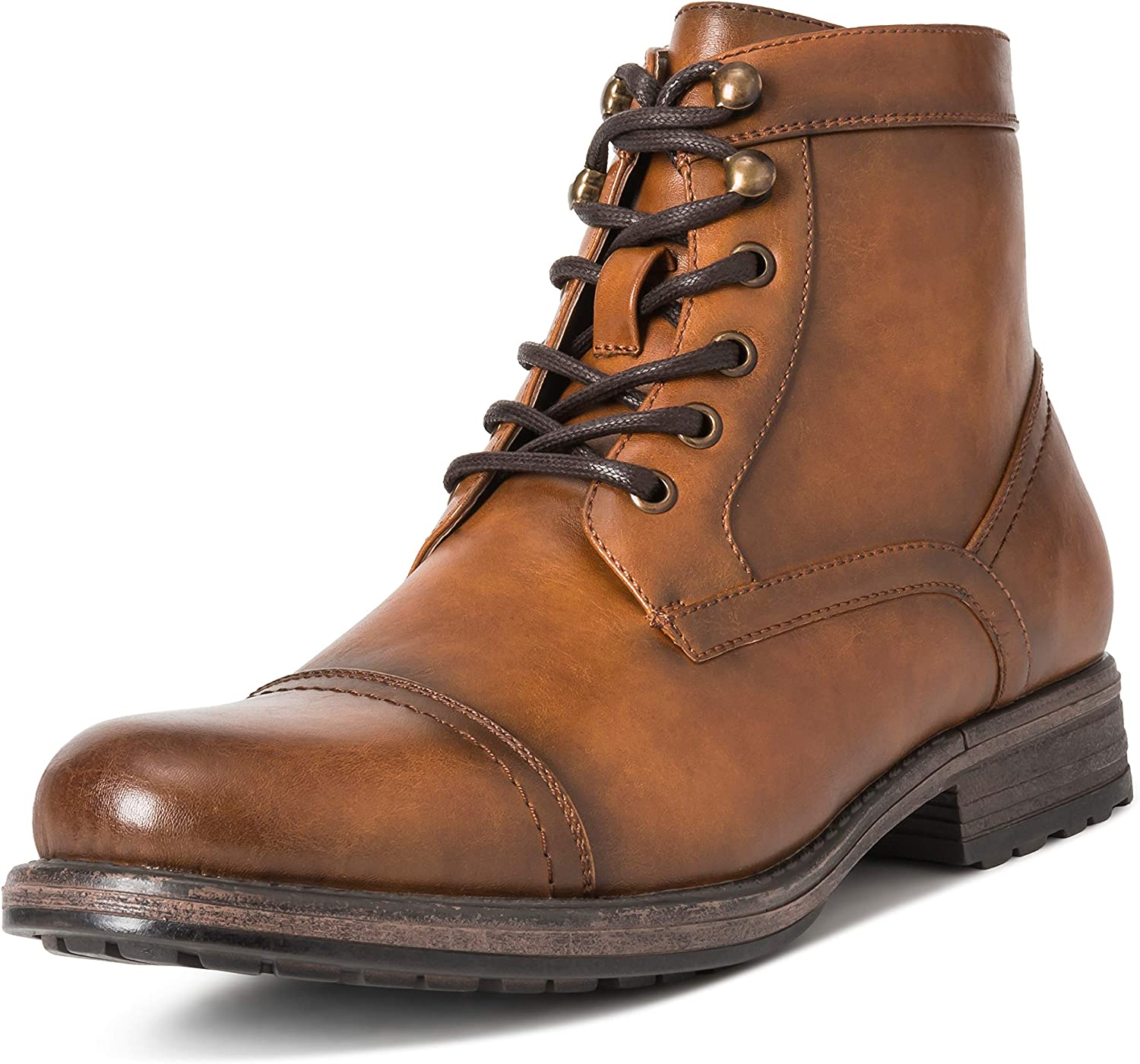 Mens Queensbery Albert Office Smart Work Business Leather Ankle Boots