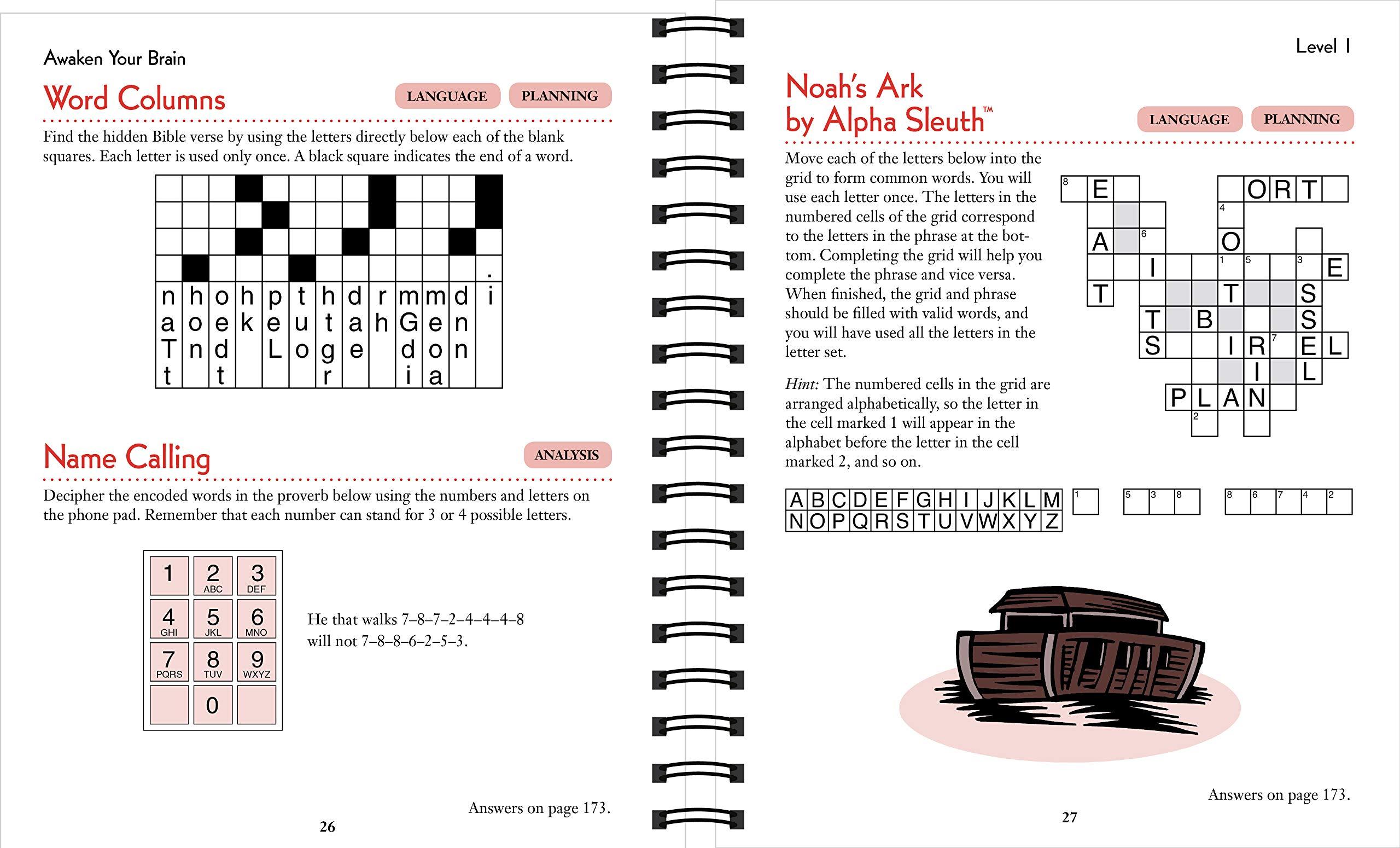Brain Games - Bible Puzzles: Publications International Ltd